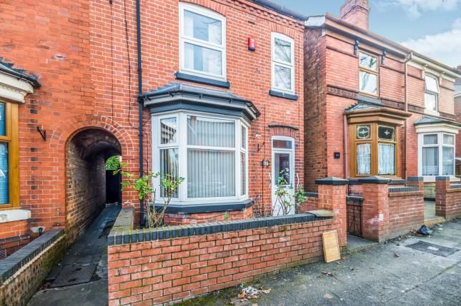 Thumbnail End terrace house for sale in Alexandra Road, Kings Hill, Darlaston, Wednesbury