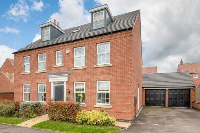 Thumbnail Detached house for sale in Jubilee Way, Burbage, Hinckley