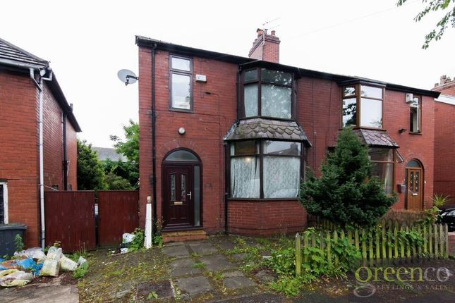 Thumbnail Semi-detached house for sale in Woodlands Avenue, Whitefield, Manchester