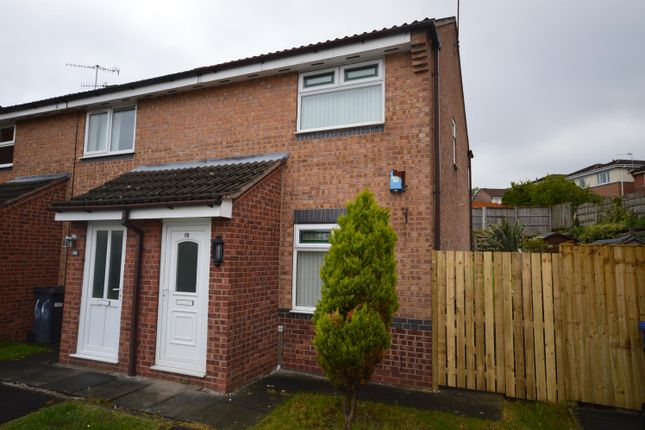 2 bedroom end terrace house for sale in Herriot Drive, Chesterfield