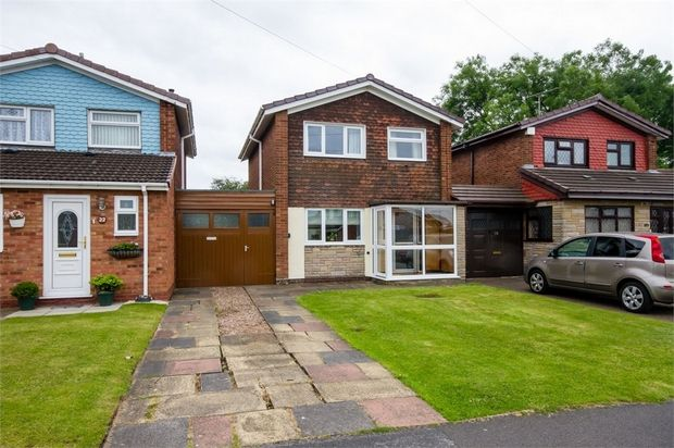 Thumbnail Detached house for sale in Perry Hall Drive, Willenhall, West Midlands