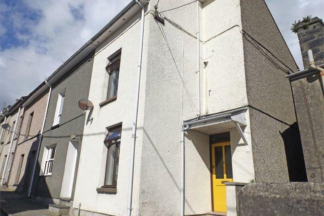 Thumbnail End terrace house for sale in Dora Street, Porthmadog, Gwynedd