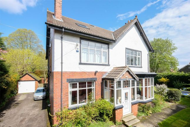 Thumbnail Detached house for sale in The Drive, Roundhay, Leeds, West Yorkshire
