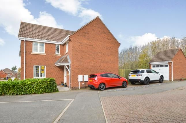 Thumbnail Detached house for sale in Stinford Leys, Market Harborough, Leicestershire