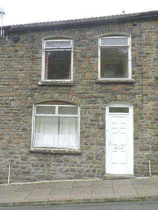 Exterior of Morton Terrace, Clydach Vale CF40