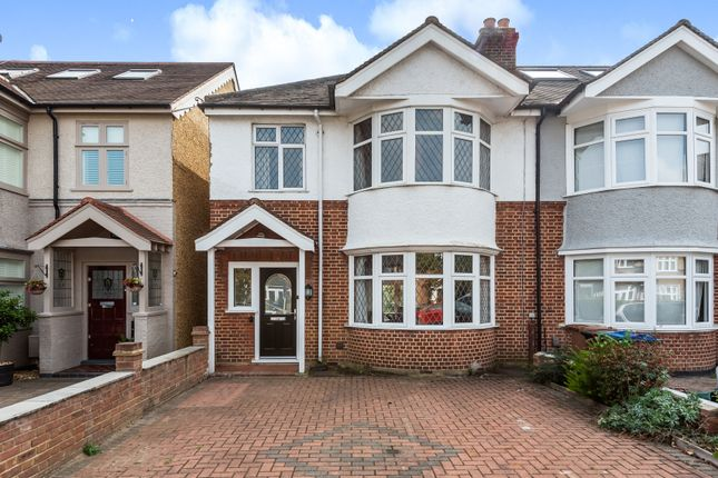 3 bed semi-detached house for sale in Kenley Road, London SW19