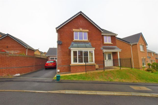 Thumbnail Detached house for sale in Heol Miaren, Llanharry, Pontyclun