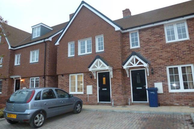 Thumbnail Terraced house to rent in Montague Mews, Farnham