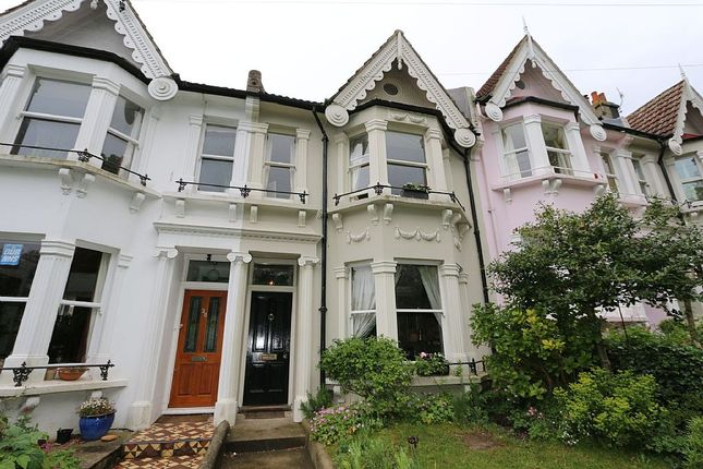Thumbnail Terraced house for sale in Cleveland Road, Brighton, East Sussex