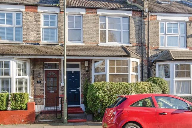 Thumbnail Terraced house for sale in Leopold Road, London