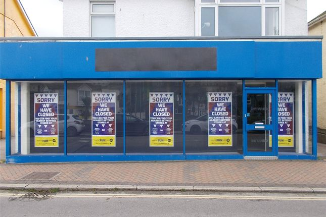 Thumbnail Retail premises for sale in Boscawen Road, Perranporth, Cornwall