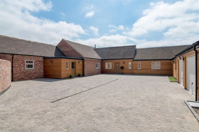 Thumbnail Barn conversion for sale in Cotes Road, Cotes, Loughborough