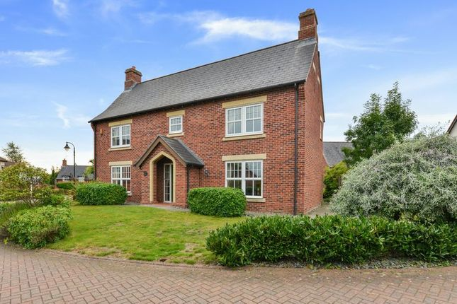 Thumbnail Detached house for sale in Kingsdown Close, Wychwood Park, Weston