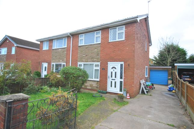 Thumbnail Semi-detached house to rent in Plover Court, Rossington, Doncaster