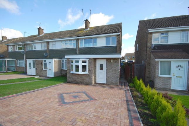 Thumbnail End terrace house for sale in Firecrest Road, Tile Kiln, Chelmsford