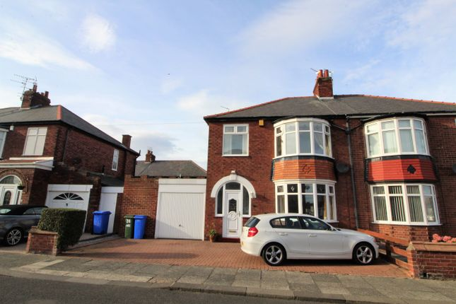 Thumbnail Semi-detached house for sale in Collingwood Terrace, Blyth