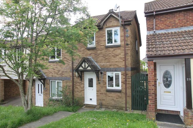 Thumbnail Semi-detached house for sale in Bakers Close, Plympton