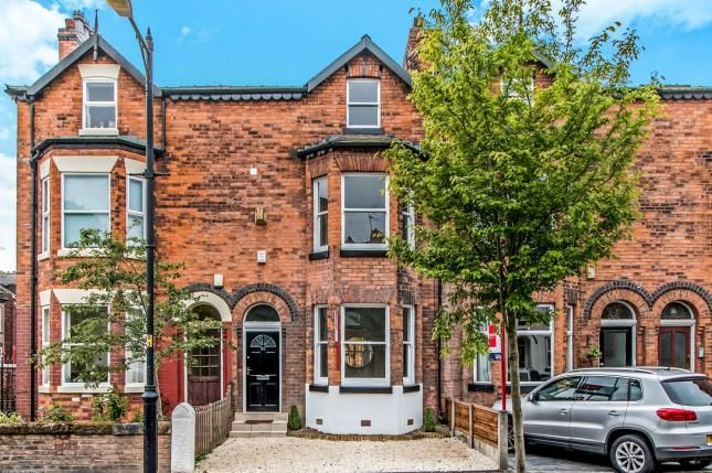Thumbnail Terraced house for sale in Warwick Road, Chorlton, Manchester, Greater Manchester