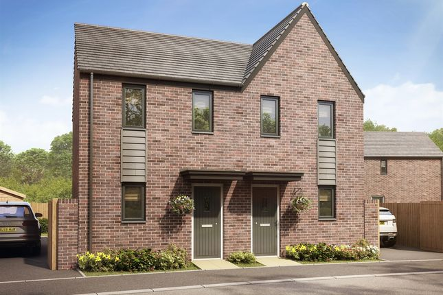 """Thumbnail Terraced house for sale in """"The Morden"""" at Llantrisant Road, Capel Llanilltern, Cardiff"""