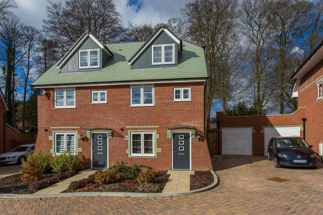 Thumbnail Semi-detached house to rent in Pine Trees, Daws Hill, High Wycombe
