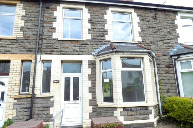 Thumbnail Terraced house to rent in Pontygwindy Road, Caerphilly
