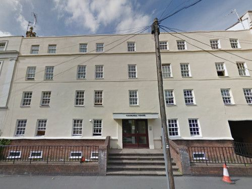 Thumbnail Flat to rent in Flat 2, Churchill House, Regent Street, Leamington Spa