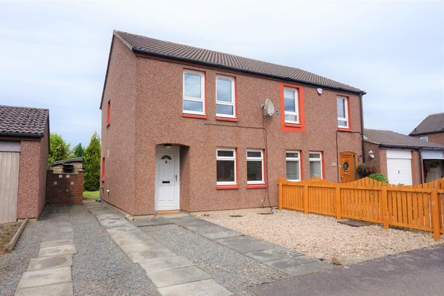 Semi-detached house for sale in Burghmuir Court, Linlithgow
