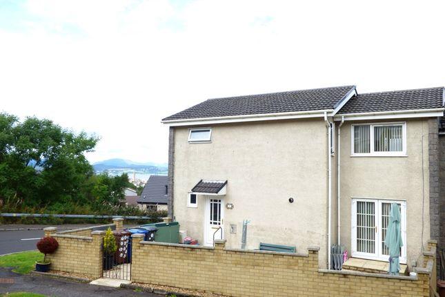 3 bedroom end terrace house for sale in Leven Road, Greenock