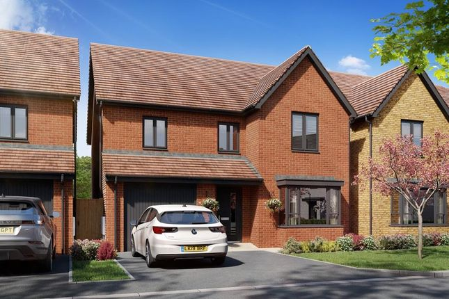 """Thumbnail Detached house for sale in """"Aspen"""" at Hedgers Way, Kingsnorth, Ashford"""