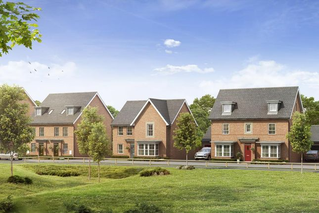 "Thumbnail Detached house for sale in ""Lincoln"" at Warkton Lane, Barton Seagrave, Kettering"