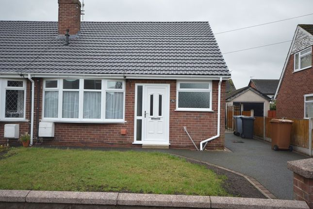 2 bed semi-detached house to rent in Kingsley Road, Haslington, Crewe CW1