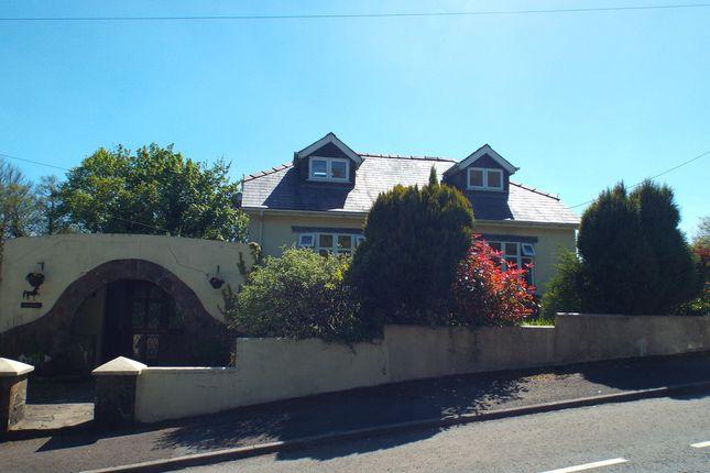 Thumbnail Detached bungalow for sale in Meadows Road, Cross Hands, Cross Hands, Llanelli