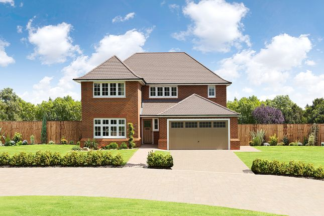 "Thumbnail Detached house for sale in ""Sunningdale"" at Angell Drive, Market Harborough"