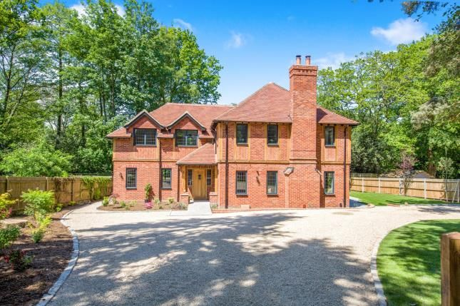 Thumbnail Detached house for sale in Cricket Hill, Yateley, Hampshire