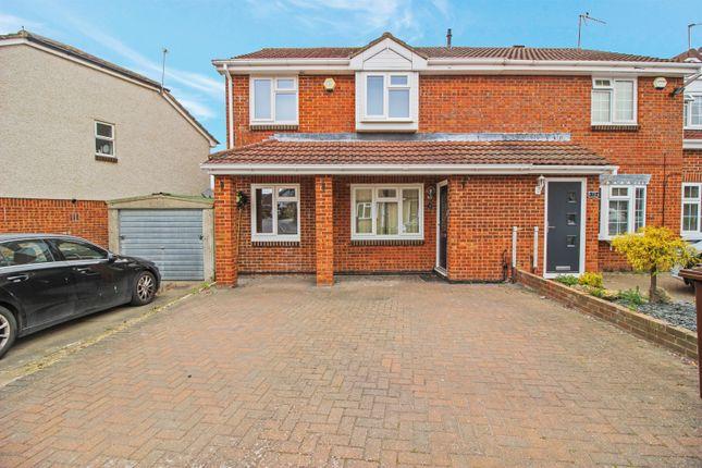 3 bed semi-detached house for sale in Lucas Road, Snodland, Kent ME6