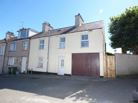 Thumbnail End terrace house for sale in Cross Street, Holyhead, Sir Ynys Mon