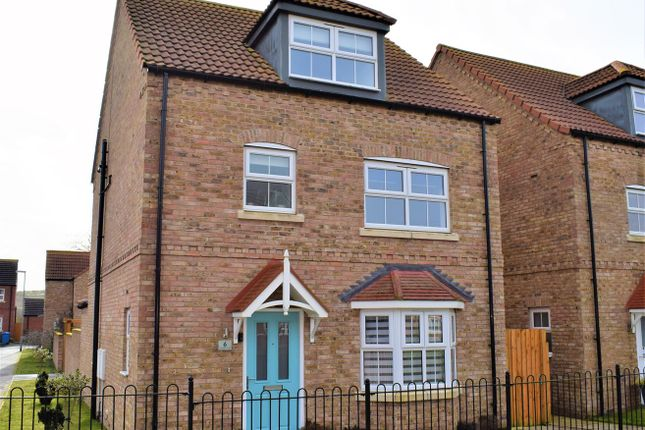 4 bed detached house for sale in Saunders Close, Caistor, Market Rasen LN7