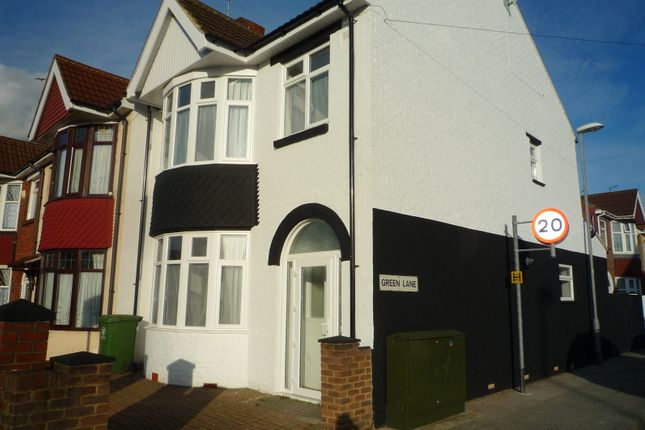 Thumbnail Semi-detached house to rent in Copnor Road, Portsmouth