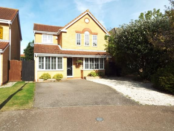 Thumbnail Detached house for sale in Coltsfoot, Biggleswade, Bedfordshire