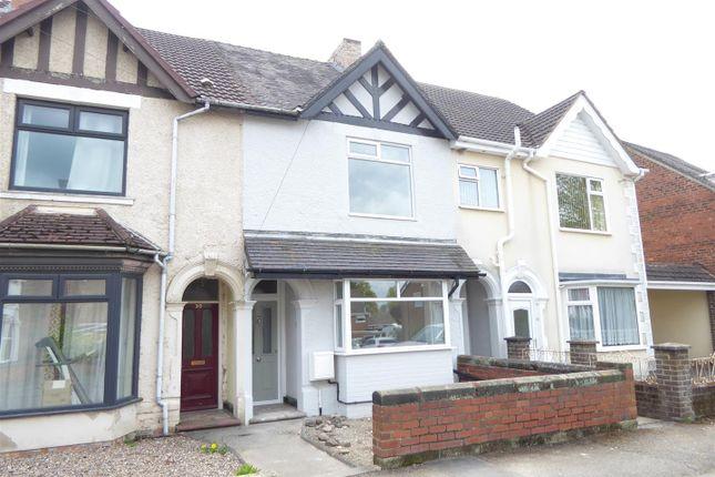 3 bed terraced house for sale in Regent Street, Church Gresley, Swadlincote DE11