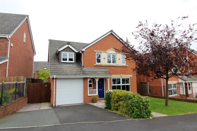 Thumbnail Detached house for sale in Upper Well Close, Oswestry