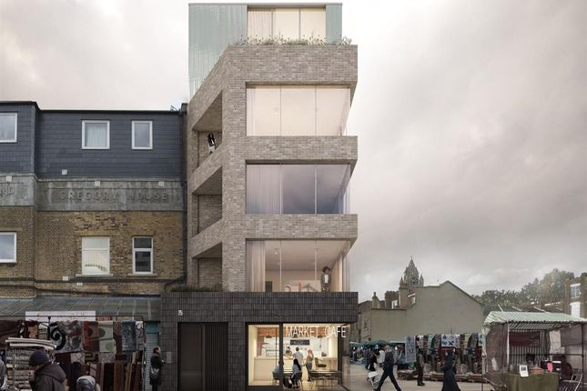 Front Elevation of Ridley Road, London E8