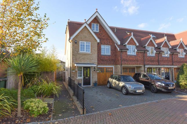 Thumbnail Town house to rent in Millers Close, Walton-On-Thames