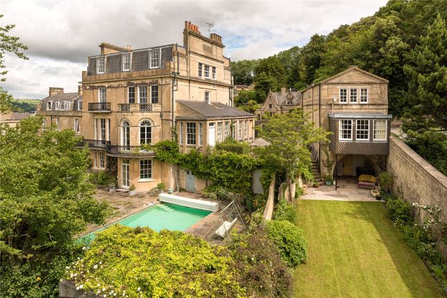 Thumbnail Detached house for sale in Bathwick Hill, Bathwick, Bath