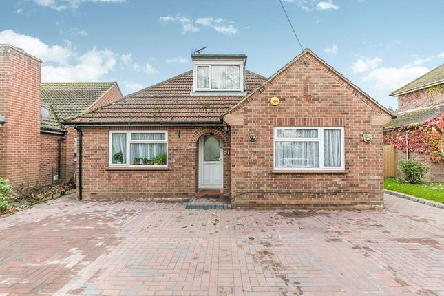 Thumbnail Detached bungalow for sale in Friars Court, Abbots Road, Colchester