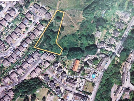 Thumbnail Land for sale in Leygate View, New Mills, High Peak