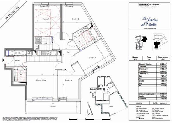 4 bed apartment for sale in 94420, Le Plessis-Trévise, Fr