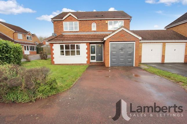 Thumbnail Detached house for sale in Johns Close, Studley
