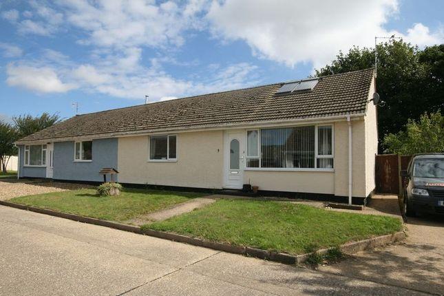 Thumbnail Semi-detached bungalow for sale in Ambleside, Wicken Green Village, Fakenham
