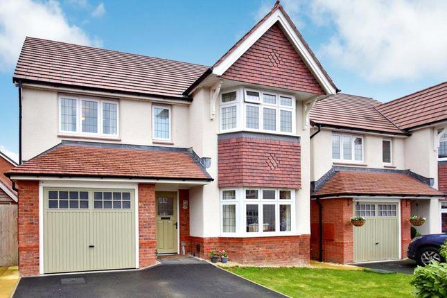 Thumbnail 4 bed detached house for sale in Robin Way, Kingsteignton, Newton Abbot, Devon